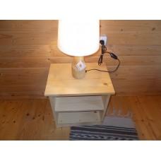 Veioza rustica din lemn LB 24