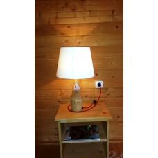 Veioza rustica din lemn LB 33