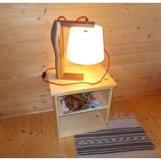 Veioza rustica din lemn LB 40 L